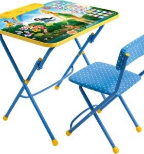 Комплект стол+стул Азбука арт. Д3Ф1(19)