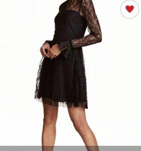 Платье H&M 34 размер (42 россий.)