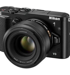 Nikon 1 V3/f2.8/128gb/чехол