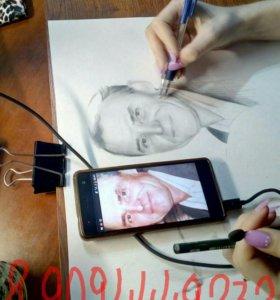 Нарисую по фото (в карандаше)