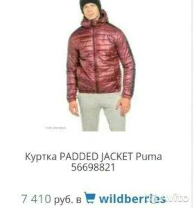 Куртка padded jacket Puma