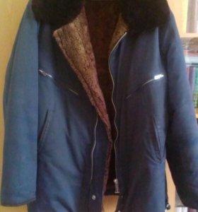 Куртка меховая , типа лётная