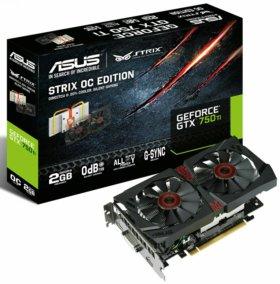 Geforce GTX 750 Ti strix 2 GB