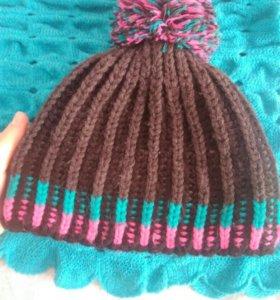 Осенняя шапка Женская