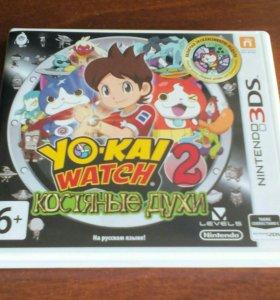 Yo-kai watch 2. Костяные духи.
