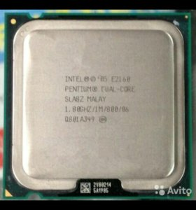 Intel Pentium DualCore E2160