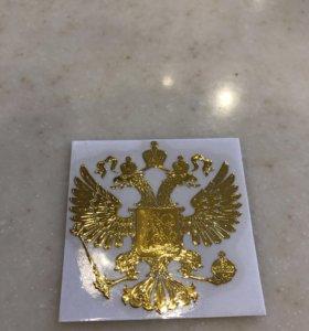 Герб России , наклейка