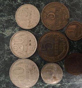 Набор монет СССР 1980