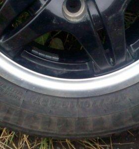 Комплект колёс на 13