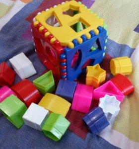 Логический куб сортер