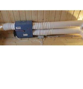 Компактная вытяжная вентиляция для дома или дачи