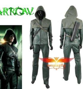 Мужской косплей костюм Зеленая Стрела