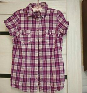 Блузка - рубашка 46-48