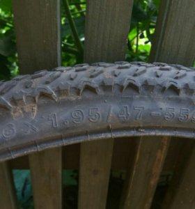 Резина на велосипед 2 шт