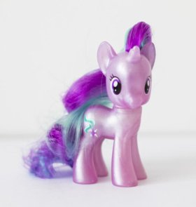 My little pony translucent Старлайт глиммер