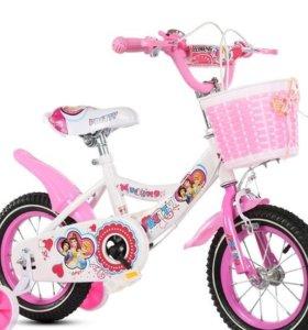 """Последний! Велосипед детский Disney """"14 девочке"""