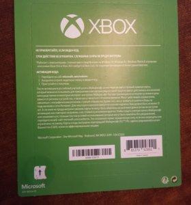 Пополнение счёта XBOX ONE