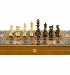 Шахматы+нарды+шашки (комплект 3 в 1)