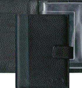 Кожаный бумажник водителя Domenico Morelli