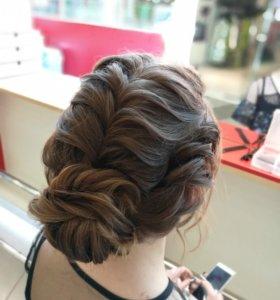 Плетение кос, прически на основе плетения