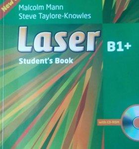 Учебник и тетрадь Laser B1+