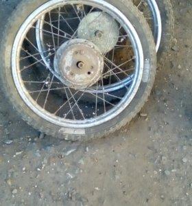 колеса для мопеда Рига, Дельта