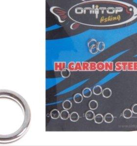 Кольцо заводное 2х5 мм, тест 8 кг (набор 20 шт.)