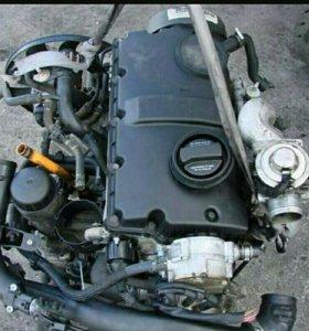 Контрактный б/у двигатель.