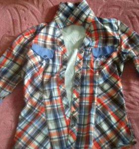 Клетчетая рубашка