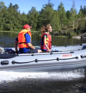 Лодки ПВХ Антей 400 + Тент в ПОДАРОК