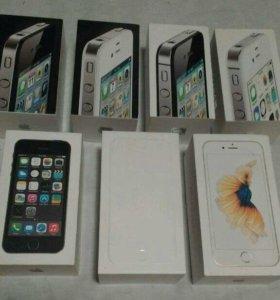 Новые оригинальные iPhone 4S/5/5S/6/6S