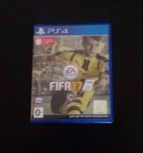 Игра FIFA 17 на PS4