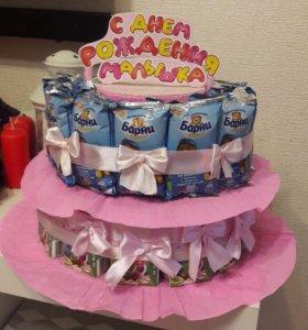 Продам каркас для сладкого тортика в садик и украш