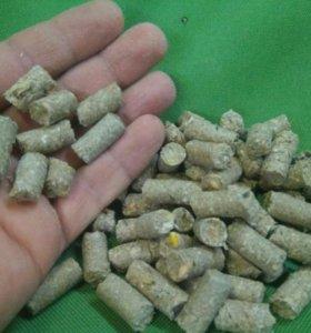 Гранулированный корм для грызунов