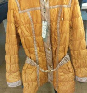 Пальто детское новое