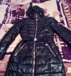 Пальто эко кожа