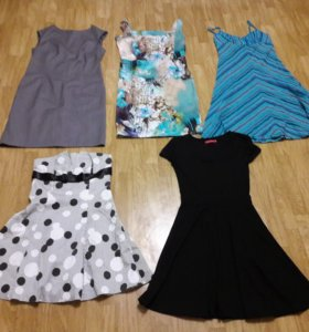 Одежда платья юбки рубашки костюмы джинсы 42 44
