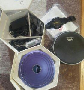 Аудио, МР3, видео плеер + часы Casio