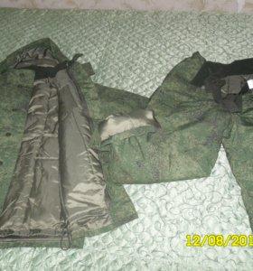 костюм зимний армейский новый