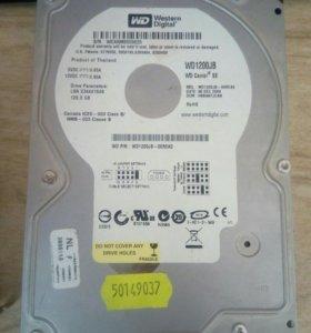 HDD WD 1200JB,120 Gb,7200 оборотов