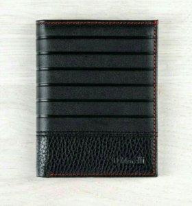 Новый кожаный мужской кошелек Domenico Morelli