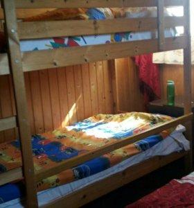 Кровать двухярусная икеа