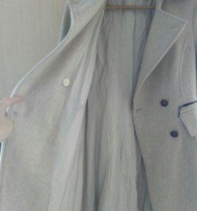 Пальто Zara ( шерстяное)