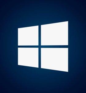 Переустановка ОС Windows, установка драйверов,