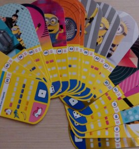 Карточки Миньонов