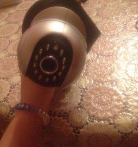 Камера видеонаблюдения в хорошем состоянием
