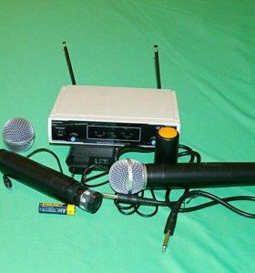 Радиомикрофоны для караоке или мероприятий