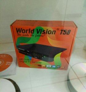 Тв приставки HD качество новые