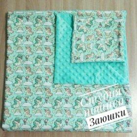 Одеяло плед конверт на выписку
