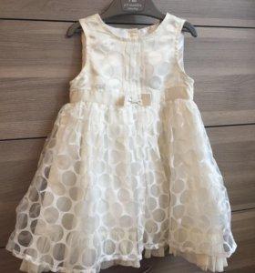 Платье нарядное для девочки Mothercare